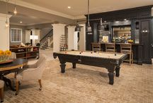 Game Room - Play Room - Multi-purpose room / The best game rooms I can find.