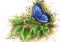 Art: Watercolors... / by Mary Frattaroli
