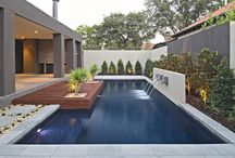 Contemporary home outdoor