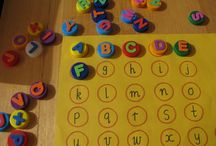 Alphabet, Numbers, colours