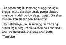tere liye quote