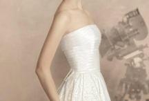 Vestidos de novia.