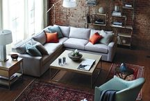 Men's Living room Interiors / Men's Living rooms