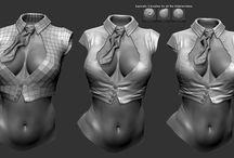 Cloth sculpt