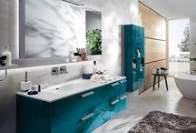 COLOURFUL BATHROOM FURNITURE / Scavolini bathroom