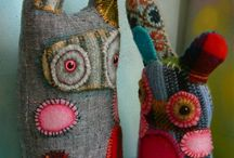 Stuffed animals / handsewn fantasy animals