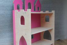 Замок домик