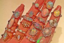 opalos destellos de arcoiris
