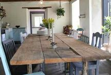 Ideas for old timber table