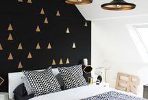 Black and Gold déco