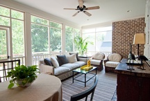 | THE GREAT OUTDOORS | / screen porches & patios