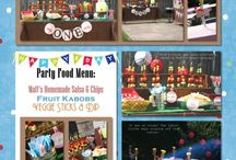 Party ideas / by Carrie Gulledge