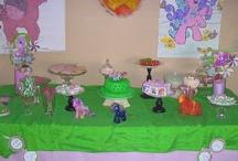 Pony birthday party