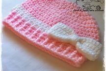 Toddler crochet beanies