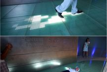 Interactive Lighting / Interactive lighting we love!