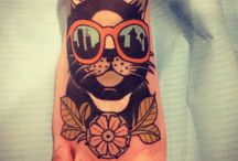 tattoos ilustraciones / by Paola Moncada Pineda