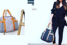 Fashion diaper bag / Diaper bag can be fashion! Handy for Baby, trendy for mummy!