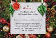 Big 40 Celebration Sweepstakes / by Tree Classics
