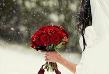 Snowy Wedding Day / by WeddingPhotoUSA