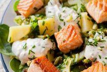 recette salades diverses