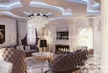 Дизайн интерьера квартиры в стиле Ар-Деко Золотые ключи / Данный дизайн утолит желания владельцев квартиры к красоте  и комфорту. Интерьер был спроектирован в направлении Ар-Деко для квартиры Золотые ключи. Элементы декора, мебель и осветительные приборы вместе создают многоуровневую атмосферу загадочности и роскоши. Особое внимание уделено свету и отражающим поверхностям. Такой приём позволил наполнить комнаты светом.