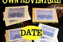 Date Night / Fun date ideas / by Jessica Murray