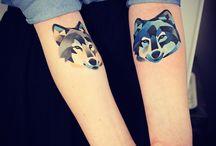 loup tattoo