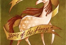 2014 - Year of the Horse / 2014 is the Year of the Wood Horse in Chinese astrology!  The Horse loves to travel and explore, and the Wood element is all about growth and new beginnings, so get ready for an exciting year! / by Open Spaces Feng Shui