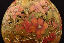 Art from nature: gourds, etc.