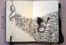 Pen Artwork.