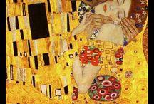 Gustav Klimt   silk scarf / silk mat  wholesale