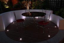 London garden lighting