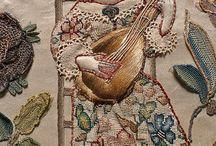 historické nástroje v umění