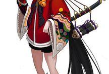 Kimono Manga Ayakashi