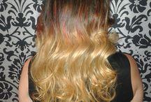 Ombre hair colour / Current hair colour trend