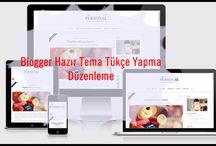 Hazır Tema ( Şablon )Türkçe Yapma Resimli Anlatım