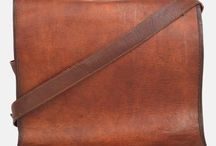 "14"" Leather Laptop Bag"