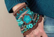 Háčkované náramky... bracelet