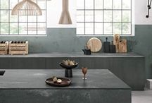 Concrete Trend / Our picks of inspirational kitchens following the concrete trend