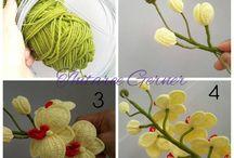 Orchidea crochet