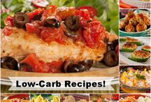 Low-Carb Recipes / Our collection of low-carb recipes features everything from some of your favorite desserts to exciting dinner menus! So, if you're following a low-carb diabetic diet plan, you can be sure you'll find a recipe you'll absolutely love in here!
