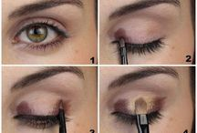 Smokey eyes make up