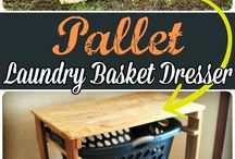 Laundry basket ideas