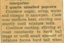 Vintage Recipe Noms!