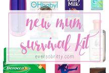 Mummy survival kit