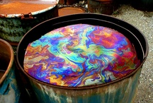 Colour - Oil slick