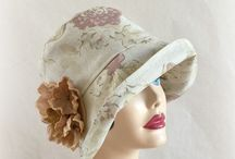 Spring Hats / A collection of beautiful hats for spring and summer Handmade in the USA. Inspired by the flapper period and reminiscent of Downton Abbey and the Great Gatsby