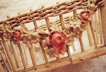 basket decoration / let the basket dictate the decoration
