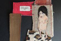 Carol Solar / All by Carol Solar, art, design, ilustration, decoration, textile art, collage, dreams, sculpture.