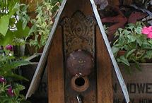 NICHOIRS - BIRD HOUSE / by Willow-isa